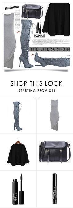 """The Autumn Sky"" by violet-peach ❤ liked on Polyvore featuring NARS Cosmetics, NYX and Anja"