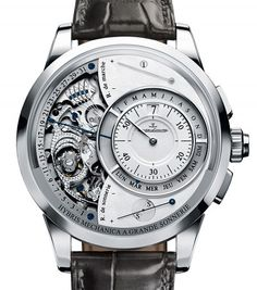 Jaeger-LeCoultre | Hybris Mechanica a Grande Sonnerie (Triology Part I) | White Gold | Watch database watchtime.com $1,537K