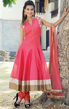 Picture of Magical Pink Ready Made Salwar Kameez