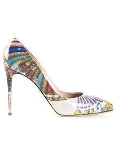 Dolce & Gabbana プリントパンプス - Marissa Collections -