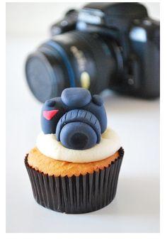 Cute Camera Cupcake