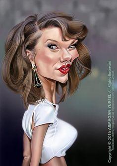 Caricaturas de personajes famosos realizadas por los mejores caricaturistas del mundo.