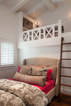 Teen Girl Bedrooms - A sweet and spectacular collection on teen room decor tips and tricks. Thirsty for other ingenious teen room decor ideas please jump to the pin image for the post example 4490704111 at once. Bedroom Loft, Dream Bedroom, Home Bedroom, Girls Bedroom, Bedroom Decor, Bedroom Photos, Master Bedroom, Loft Room, Pretty Bedroom