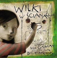 """""""Wilki w ścianach"""" to opowieść grozy znakomitego duetu: Neil Gaiman & Dave McKean."""