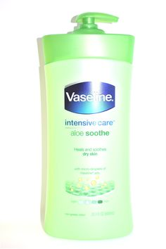 intensive care aloe soothe heals and soothes dry skin with micro-droplets of Vaseline jelly non-greasy lotion fl oz ml) Vaseline Lotion, Vaseline Jelly, Vaseline Products, Dove Beauty Cream, Lotions, Body Wash, Body Lotion, Shea Butter, Beauty