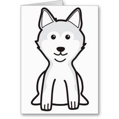 Shiba Inu Dog Cartoon Card
