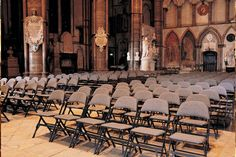 Our Audience Seating range at Westminster Abbey, UK. Stadium, Furniture, History, Christianity, Folding Seating, Interior, Design, Decor.