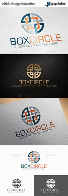 Circle Square  Logo Design Template Vector #logotype Download it here: http://graphicriver.net/item/circle-square-logo-/11850806?s_rank=708?ref=nexion