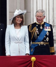 In-law rivalry: Friends of Prince Charles claim he is frustrated by the amount of time Geo...