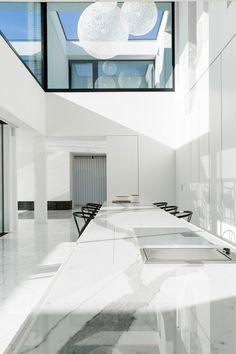 Kitchen - Villa B  in Hasselt Belgium - execution by Il Granito natuursteen