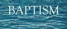 Water Baptism Web Slider
