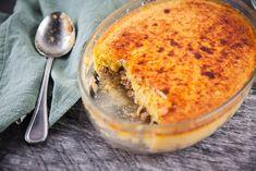 Tuna and Corn Gratin Tuna Recipes, Seafood Recipes, Corn Souffle, Gratin Dish, Batch Cooking, Fish Dishes, Fish And Seafood, Family Meals, A Food