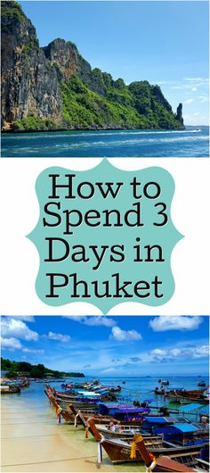 How to Spend 3 Days in Phuket with your family! Complete the a giant food guide, beaches, and shows! Phuket Travel, Thailand Travel Tips, Visit Thailand, Asia Travel, Travel Couple, Family Travel, Best Scuba Diving, Padi Diving, Thai Islands