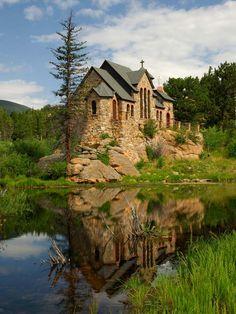 La Capilla en la roca (Allenspark, Colorado, USA)