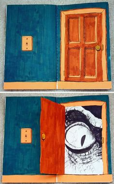 What's behind the door- Writing challenge-4th