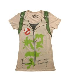 Womens Ghostbusters Costume T-Shirt
