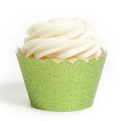 Reusable Glitter Cupcake Wrappers by Beau-coup (12 glittery colors!)