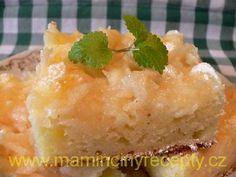 Tvarohová buchta s jablky Macaroni And Cheese, Pudding, Ethnic Recipes, Desserts, Tailgate Desserts, Mac And Cheese, Deserts, Puddings, Postres
