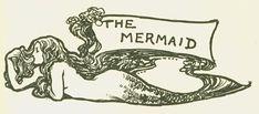 vintage mermaid draw