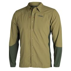 Whether you're scouring for sheds, planting food plots or irrigating a rice check, the Hybrid Scouting Shirt is a versatile warm weather classic. The durable but soft nylon body stands up to . Fishing Outfits, Fishing Shirts, Fishing Apparel, Fly Fishing, Big Game Hunting, Hunting Gear, Mens Hunting Clothes, Sitka Gear, Range Of Motion