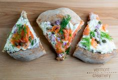 Smoked Salmon and Cream Cheese Pizza - Framed Cooks
