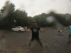 8/9/2014  8k run on a heavy rain :)