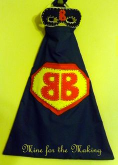 Mine for the Making: Super Cool Cape {tutorial}
