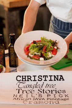 Summer salad at Christina's