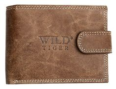Wild Tiger Men's Light Genuine Leather Wallet One Size Brown * Read more reviews of the product by visiting the link on the image. (This is an Amazon Affiliate link and I receive a commission for the sales)