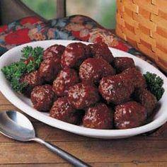 Tangy Meatballs Recipe