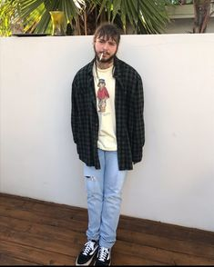 Post Malone Outfits thoughts on post malones fit streetwear post malone Post Malone Outfits. Here is Post Malone Outfits for you. Post Malone Outfits rita ora wins halloween with post malone costume rap up. Post Malone Out. Post Malone Lyrics, Post Malone Quotes, Post Malone Wallpaper, Love Post, Raining Men, Fashion Branding, Flannel Shirt, Distressed Denim, Outfit Posts
