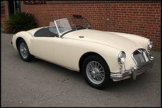 1957 MG A Convertible 1500 CC, 4-Speed  #Mecum #Monterey