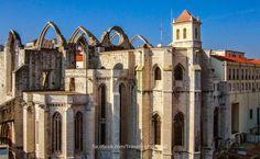 Convento do Carmo, Lisboa #portugal Bairro Alto de Lisboa | Portugal Turismo