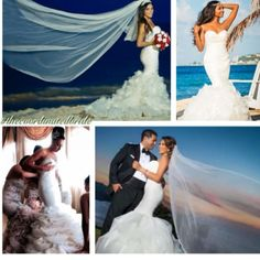 Real brides in Winnie Couture wedding dresses @thecoordinatedbride Instagram photos |