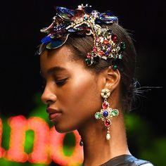 The Best Hair at Milan Fashion Week Spring/Summer 2017   Allure