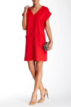 Red cocktail dress nordstrom 94132
