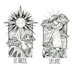 Super art sketches deep to draw 43 Ideas Tattoos 3d, Kunst Tattoos, Body Art Tattoos, I Tattoo, Tattoo Moon, La Luna Tattoo, Thigh Tattoos, Tattoo Sketches, Tattoo Drawings