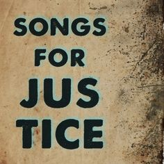 The Songs for Justice album is available on pre-order now!  Sales benefit several social justice organizations including Invisible Children.