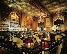 The Oak Room at the Plaza Hotel, New York City, NY, USA