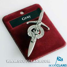 Grey Clan Crest Kilt
