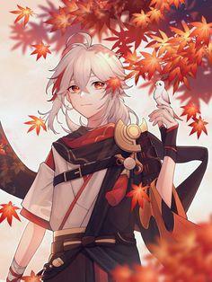 """秃仄 on Twitter: """"#GenshinImpact #原神 #Kazuha… """" Fanarts Anime, Anime Characters, Manga Anime, Anime Art, Estilo Anime, Albedo, Art Reference, Character Art, Cool Art"""