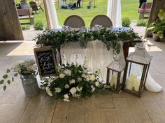 Sweetheart Table, Beams, Burlap, Table Decorations, Floral, Wedding, Furniture, Home Decor, Valentines Day Weddings
