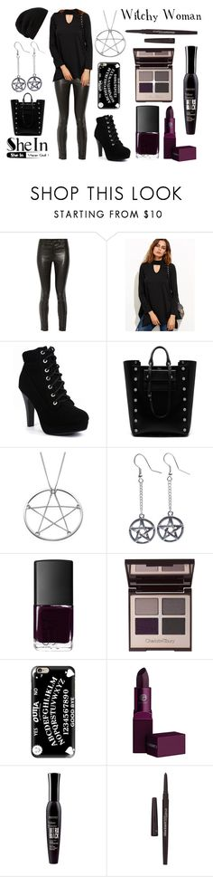 """""""Witchy Woman"""" by iloveishimondo ❤ liked on Polyvore featuring J Brand, WithChic, Mulberry, Fad Treasures, NARS Cosmetics, Charlotte Tilbury, Casetify, Lipstick Queen, Bourjois and Smashbox"""