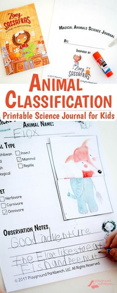 Work on Animal Classification with this literature inspired STEM activity for kids! Early readers and writers can use their knowledge of animals and imagination to build their own animal, classify it by type, diet and write about it in this printable scie