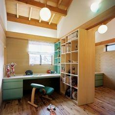 混構造の家 (子供室)