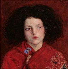 Ford Madox Brown - The Irish Girl, 1860