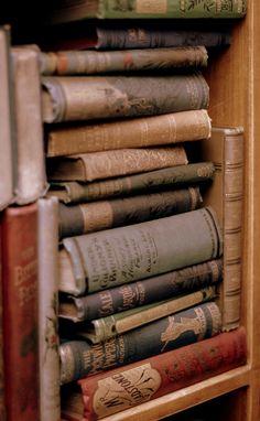 "michaelmoonsbookshop: "" old books """
