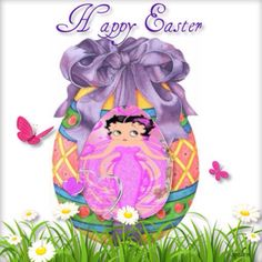 Betty Boop Easter