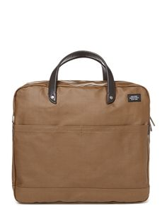 Jack Spade Coated Canvas Carryall, $135
