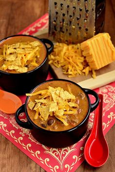 Cheesy Taco Soup #recipe -. It's a stick to yar ribs hot and hearty meal that everyone will love.